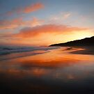 Sunrise reflection by peaky40