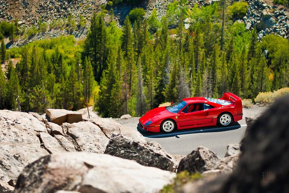 Ferrari F40 | Between Two Points by Gil Folk