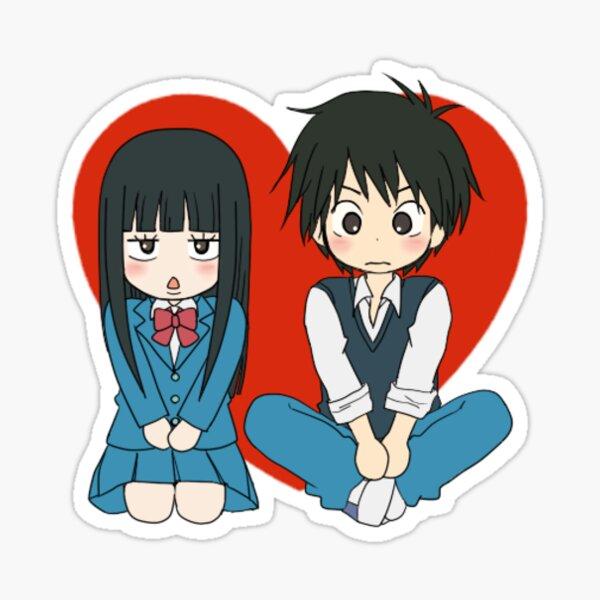 Kimi Ni Todoke - Sawako & Shota Heart Sticker