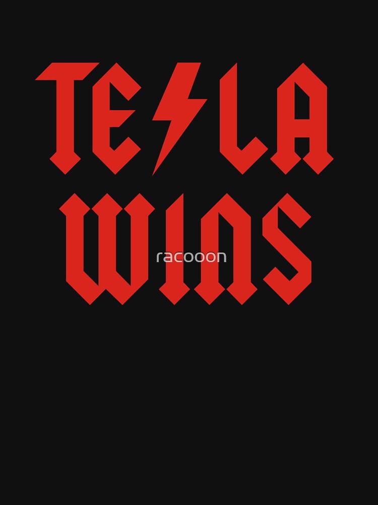 Tesla Wins by racooon