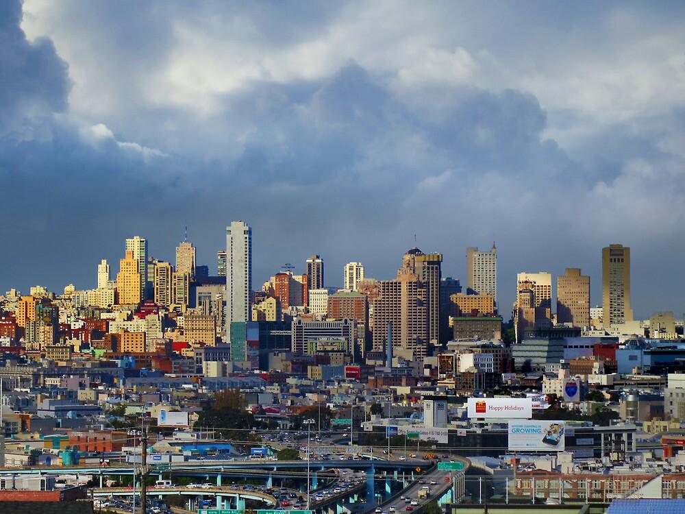 San Francisco Looking North by David Denny
