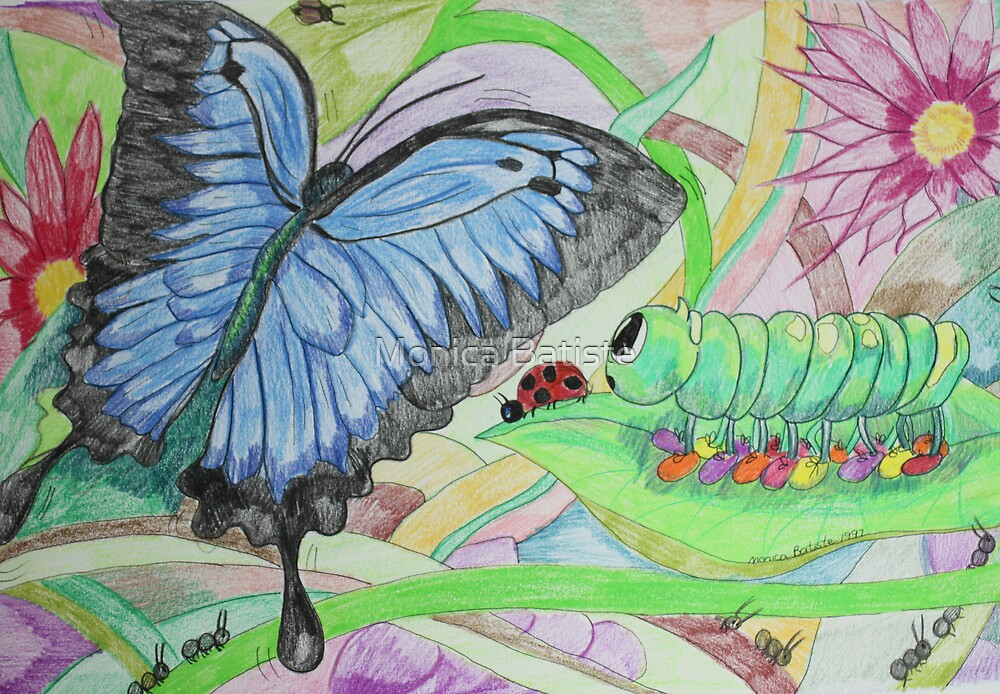 From Caterpillar to Butterfly by Monica Batiste