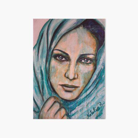 Fatima Art Board Print