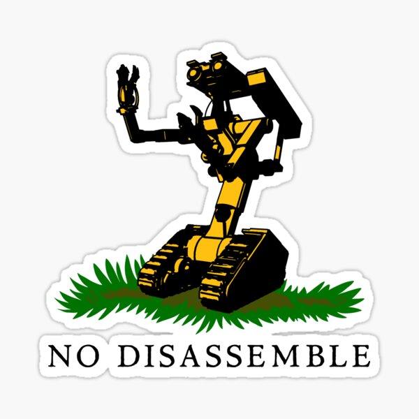 No Disassemble Sticker