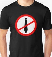 Anti-Tie Symbol T-Shirt