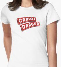 Carlos Danger aka Anthony Weiner T-Shirt Plain Women's Fitted T-Shirt