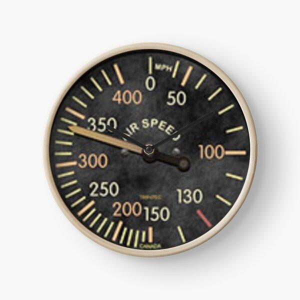 Classic Air Speed Indicator Clock