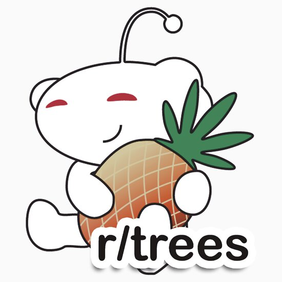 R Trees Reddit Alien With A Pineapple Unisex T Shirt A