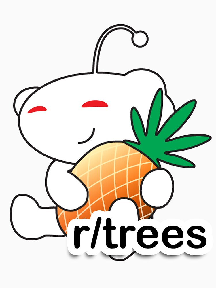 r/Trees Reddit Alien with a Pineapple | Unisex T-Shirt