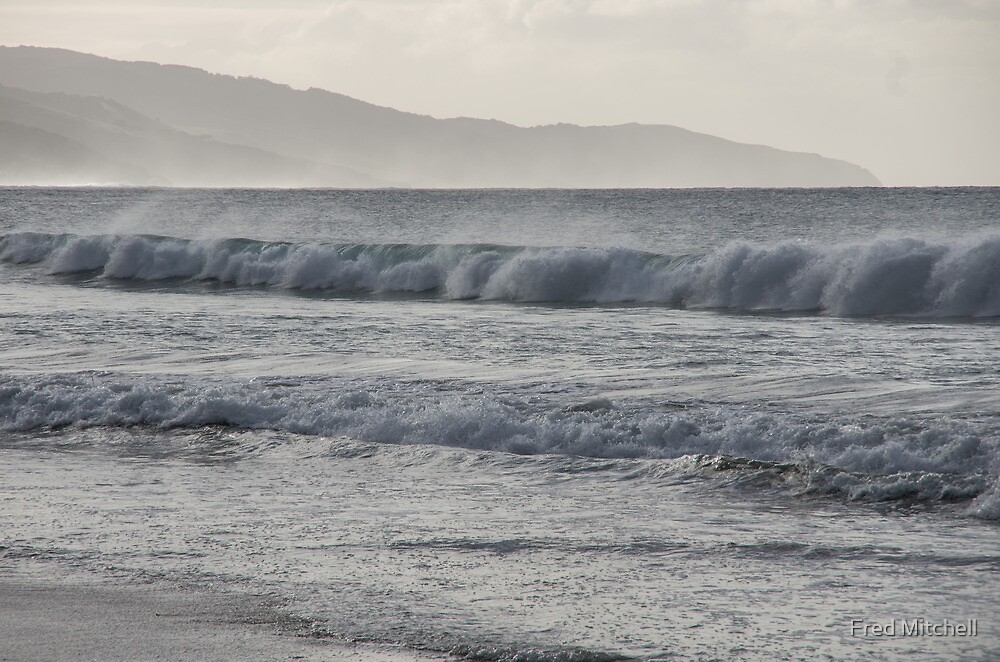 Looking to Cape Patten from Apollo Bay Beach 20130607 5258 by Fred Mitchell