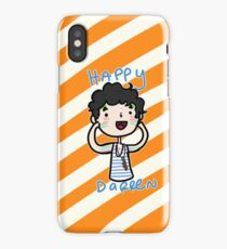 Happy Darren iPhone Case
