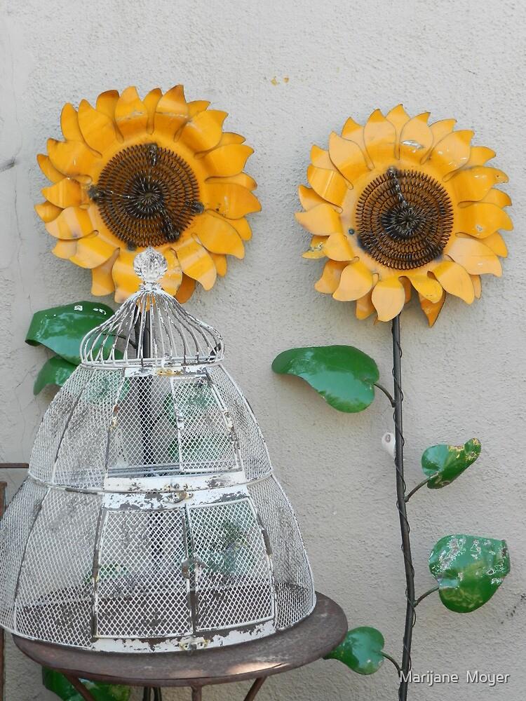 Sunflowers 2  by Marijane  Moyer