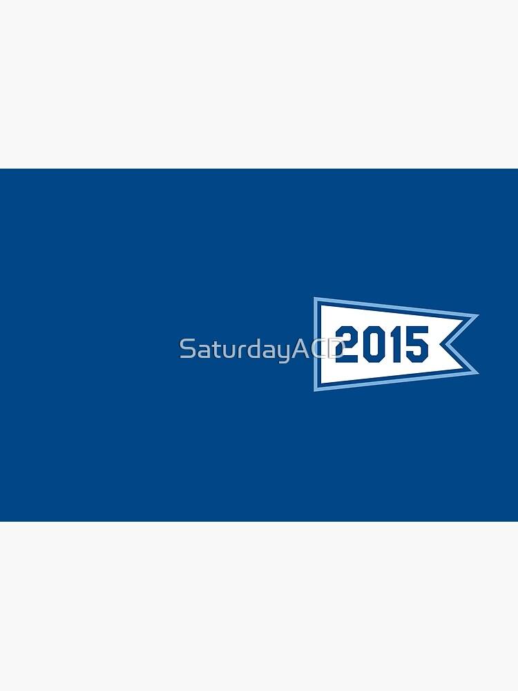 KC 2015 Pennant by SaturdayACD