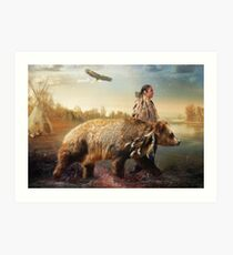 Sons Of The Earth Art Print