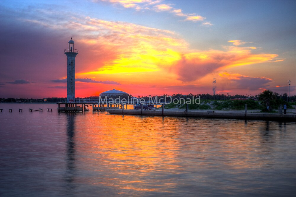 Broadwater Marina by Madeline McDonald