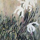 White flowers by katsu