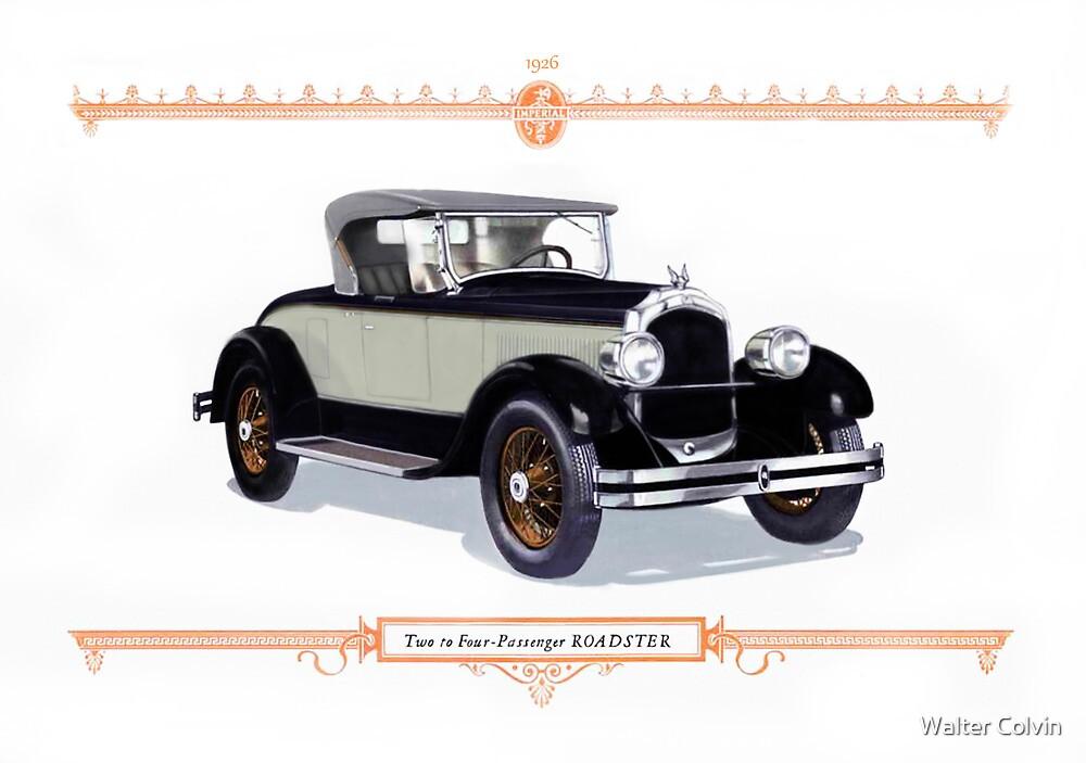 1926 chrysler Roadster by Walter Colvin