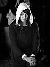 Light in Winter - Street Theatre Portrait #9 by Rhoufi