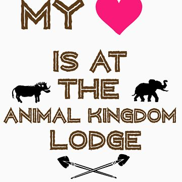 My Heart is at the Animal Kingdom Lodge by mickeywaffles