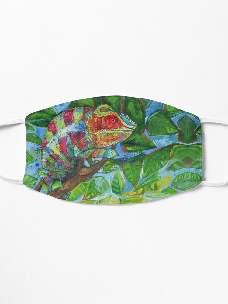 Alternate view of Panther Chameleon Painting - 2012 Mask