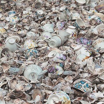 Teacup shells by kittiemeow