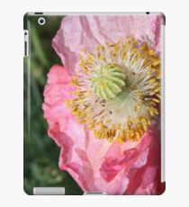 Crumpled poppy iPad Case/Skin