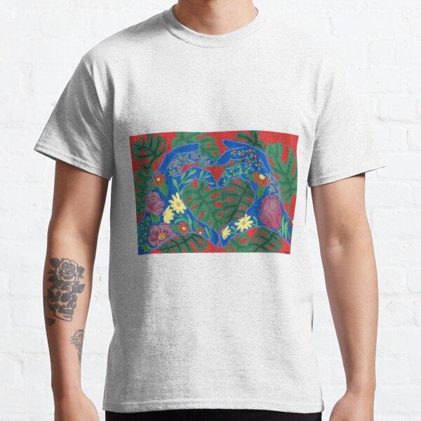 Plant Love Hands Classic T-Shirt