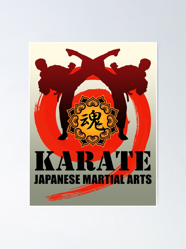 Alternate view of karate5 Poster