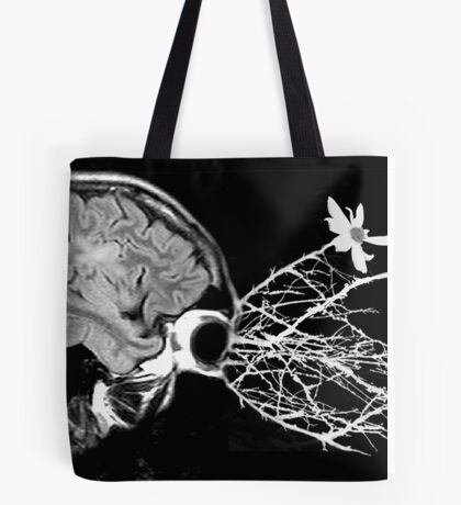 what's in the mind doesn't always stay there... Tote Bag