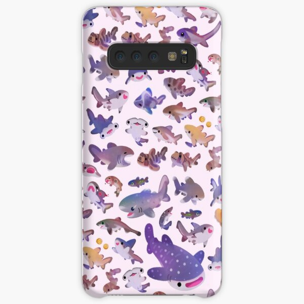 Shark day 2 - pastle Samsung Galaxy Snap Case