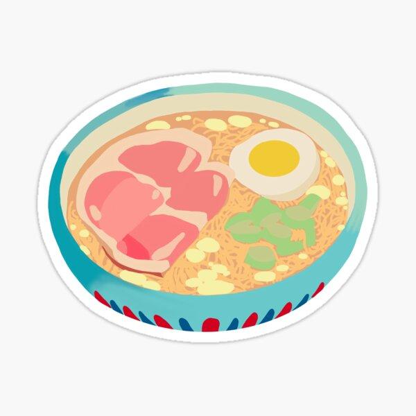 Ponyo's Ramen Sticker