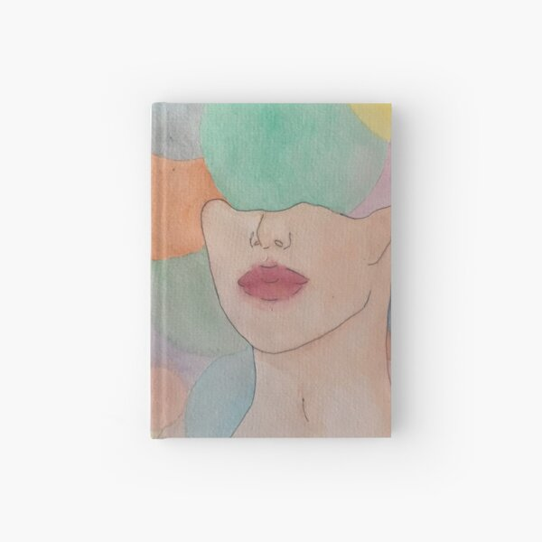 head exploded in a world of gums Hardcover Journal