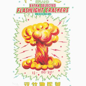 Atomic Flashlight Crackers by vintagegraphics
