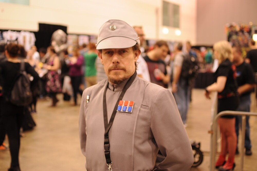 Imperial Officer at Alert by LostTambo