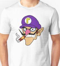 Waluigi Smoking a Cigar Unisex T-Shirt