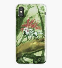 Okami Bamboo Forest iPhone Case