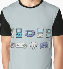 Nintendo consoles Graphic T-Shirt