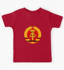 German Democratic Republic Emblem Kids Tee