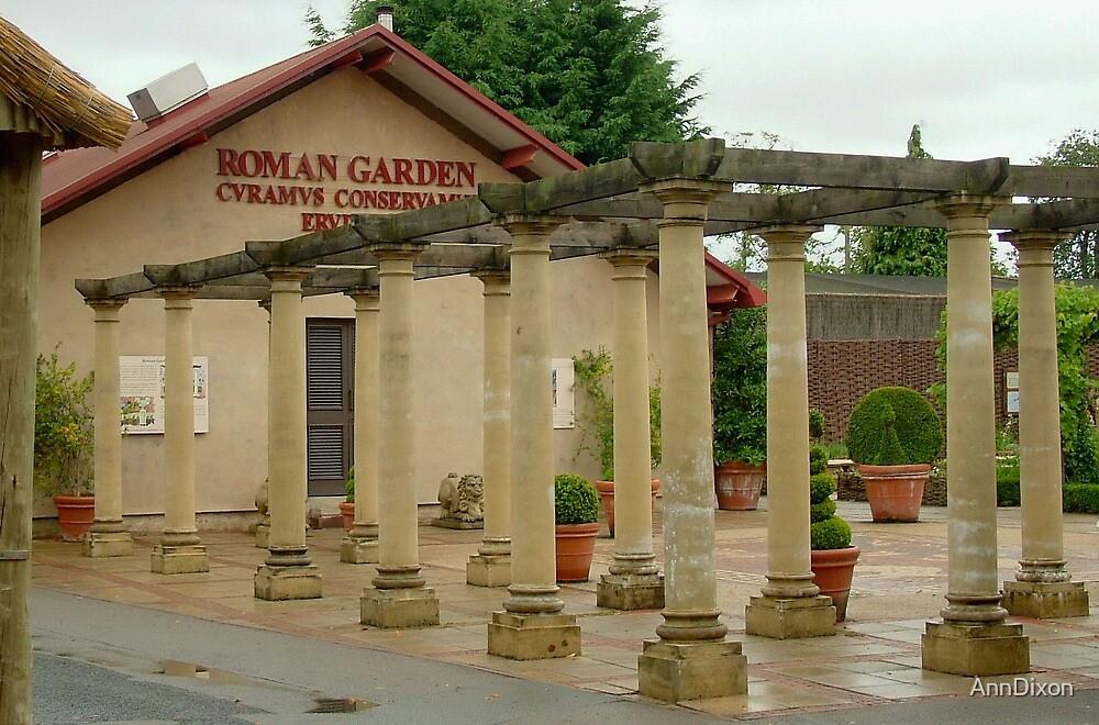 Roman Columns by AnnDixon