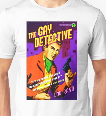 """""""The Gay Detective"""" T-Shirt"""