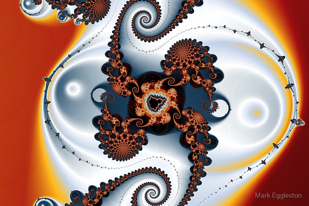 Mandelbrot Spirals and Threads by Mark Eggleston