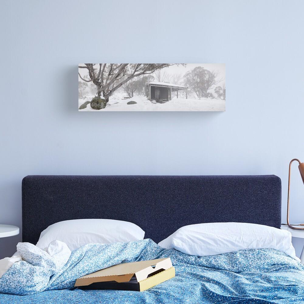 Pretty Valley Hut, Falls Creek, Victoria, Australia Canvas Print