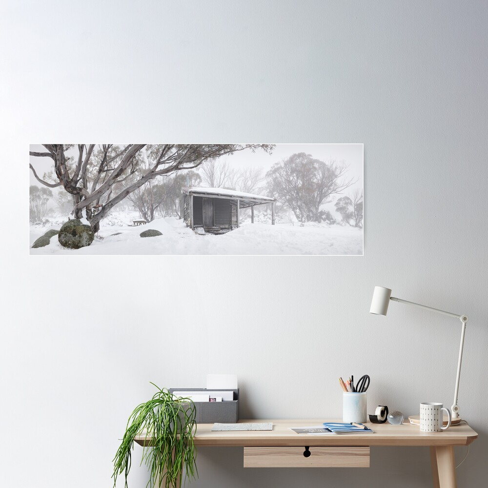 Pretty Valley Hut, Falls Creek, Victoria, Australia Poster