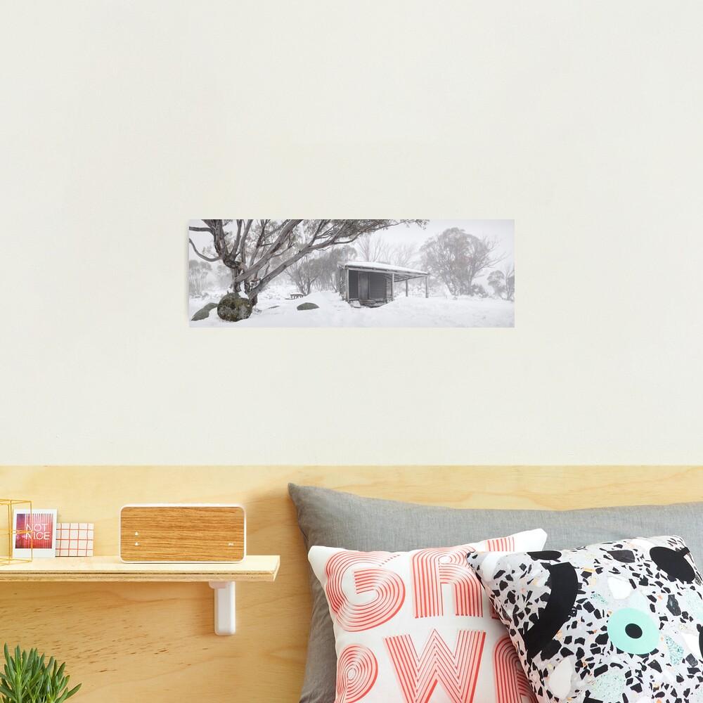 Pretty Valley Hut, Falls Creek, Victoria, Australia Photographic Print