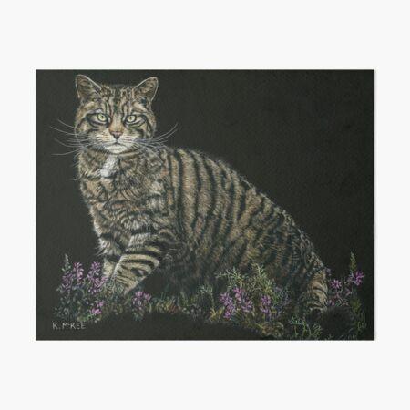 Last of the Highland Tigers Art Board Print