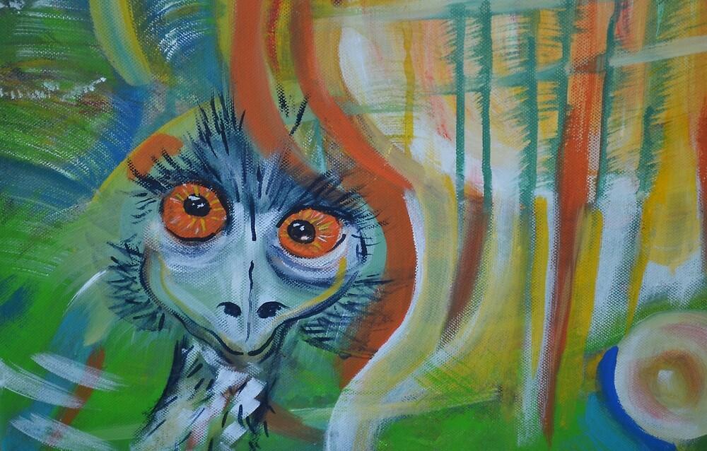 Crazy Baby Emu by Sharonford