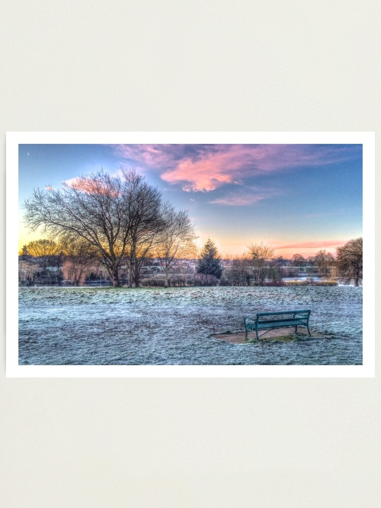 Alternate view of Park HDR Edge Photographic Print