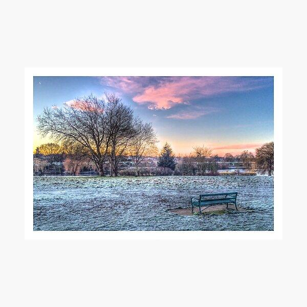 Park HDR Edge Photographic Print