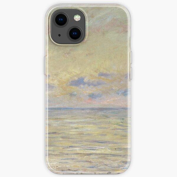 Claude Monet - Marine Near Etretat iPhone Soft Case