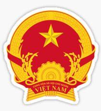 Vietnam National Emblem Sticker